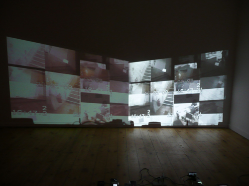 Stanza: Visitors To A Gallery. 2007. CCTV systems and ethics.