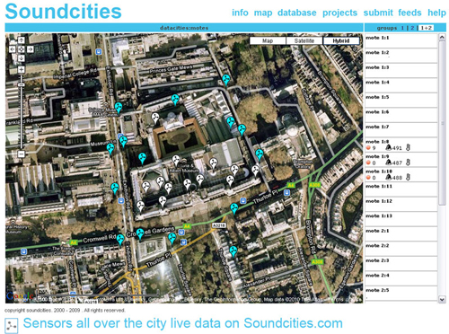 The art of gathering data Sesnors in the city