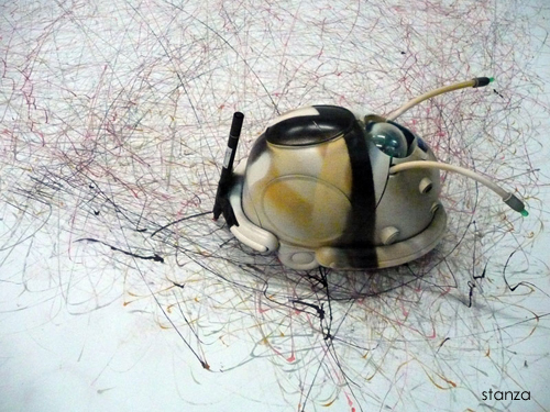 stanza artist robots 2002 - 2010