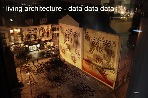 stanza Artwork. Live sensor data. 2010