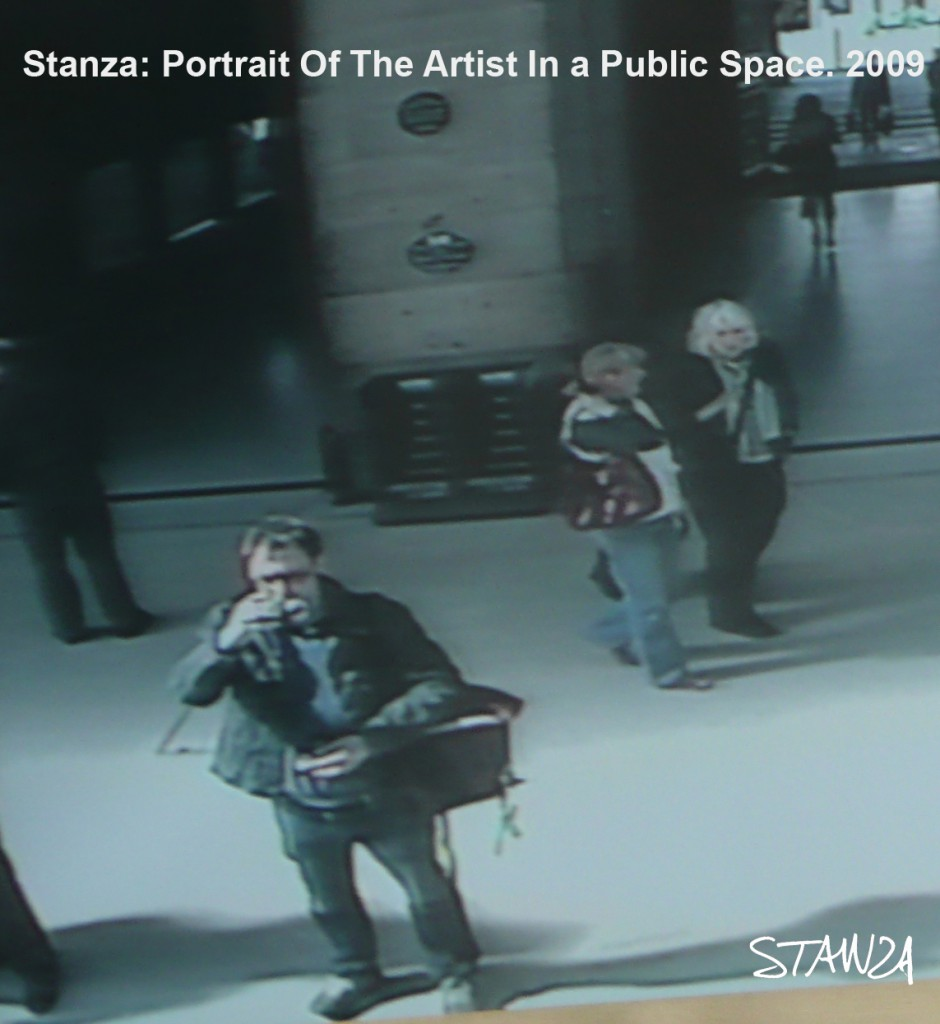 Portrait Of Artist Stanza in CCTV systems