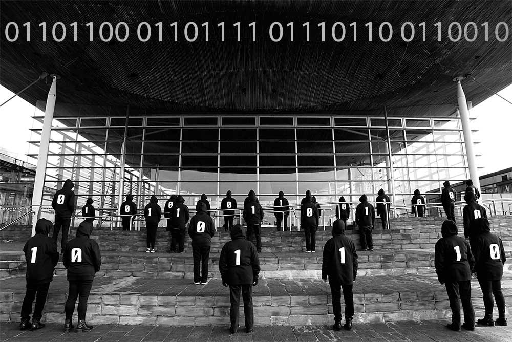 The Binary Graffiti Club Choir
