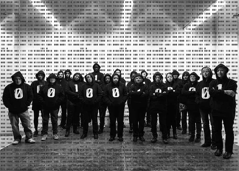 The Binary Graffiti Club Choir