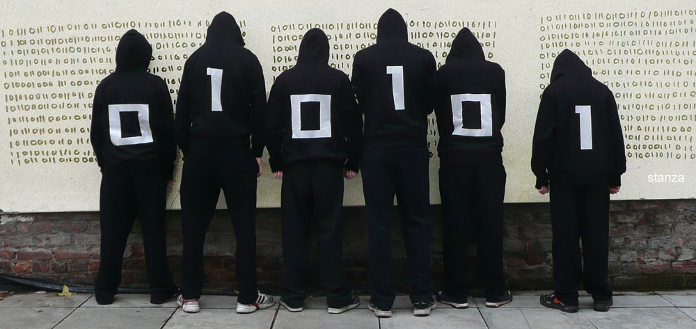 Binary Graffiti Club.